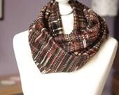 Man ethnic infinity scarf - soft - circular scarf