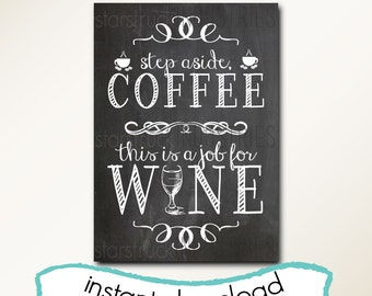 This item is unavailable for Wine chalkboard art
