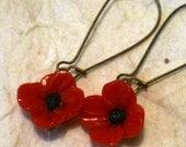 Poppy Earrings - UK Seller