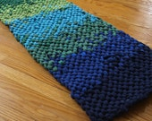 Custom for Pennie -- Rag Rug Blended knotted Reversible runner
