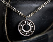 Roller Skate Bearing Necklace
