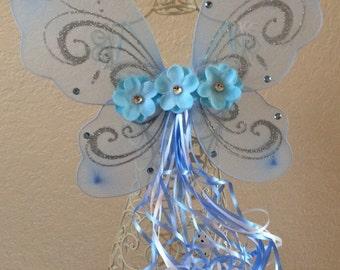Blue Fairy Wings, Blue Fairy Costume, Blue Fairy, Fairy Party Favors, Tinkerbell Wings, Tinkerbell Party Favors, Tinkerbell Costume