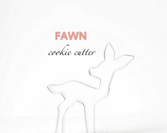 Fawn Deer Cookie Cutter, Cookies, Woodland, Themed, Bambi
