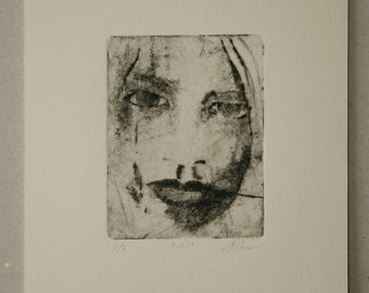 Drypoint etching 09.10.14