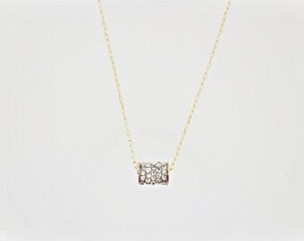 Sparkle Necklace - Cylinder