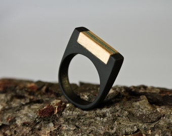 Ring resin and wood