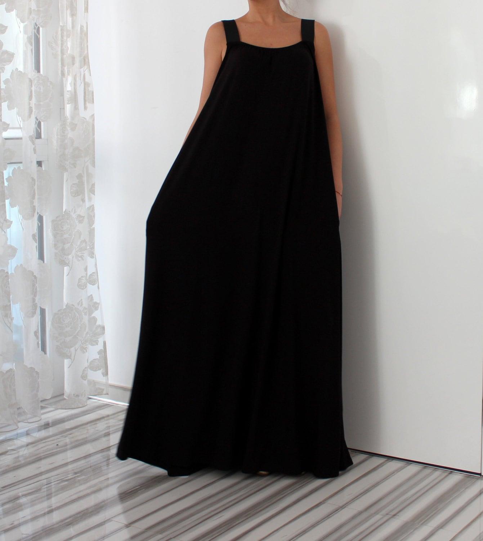 Plus Size Black Dress With Pockets 10