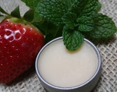 Vegan Strawberry Mint Lip Jelly, An Animal Friendly Alternative to Lip Balms or Shines, Available in a Variety of Scents