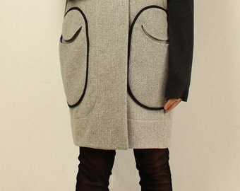 "Pattern  coat  ""HARVEY"""