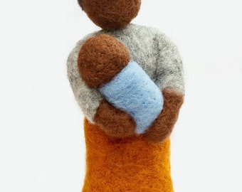 Needle felted Mother and Baby