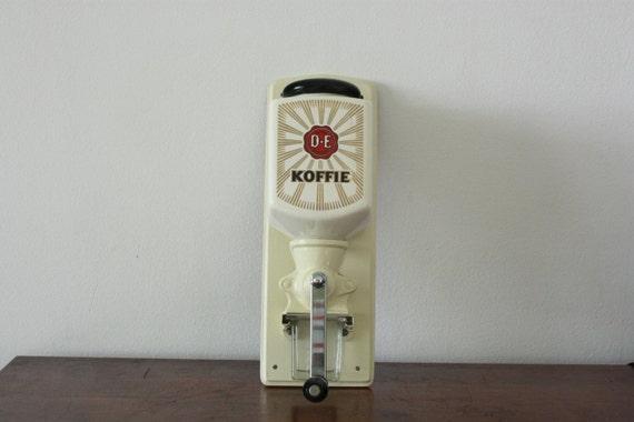 moulin caf mural vintage qui douwe egberts hollande. Black Bedroom Furniture Sets. Home Design Ideas