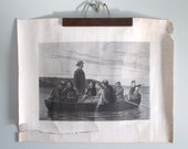 From Shore To Shore Print by Clarence M. Dobell circa 1870