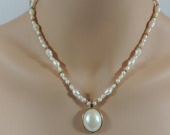 Trifari Pearlessence Freshwater Pearl Necklace