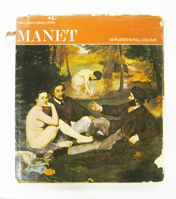 Coffee Table Art Books: Manet Coffee Table Art Book Colour Library Of By