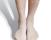 Spots Sparkle Tights