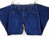 Vintage Levi's 784 Bell Bottom Denim Pants W29.5 1970's