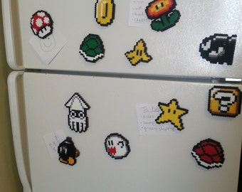 Magnets - Mario Items