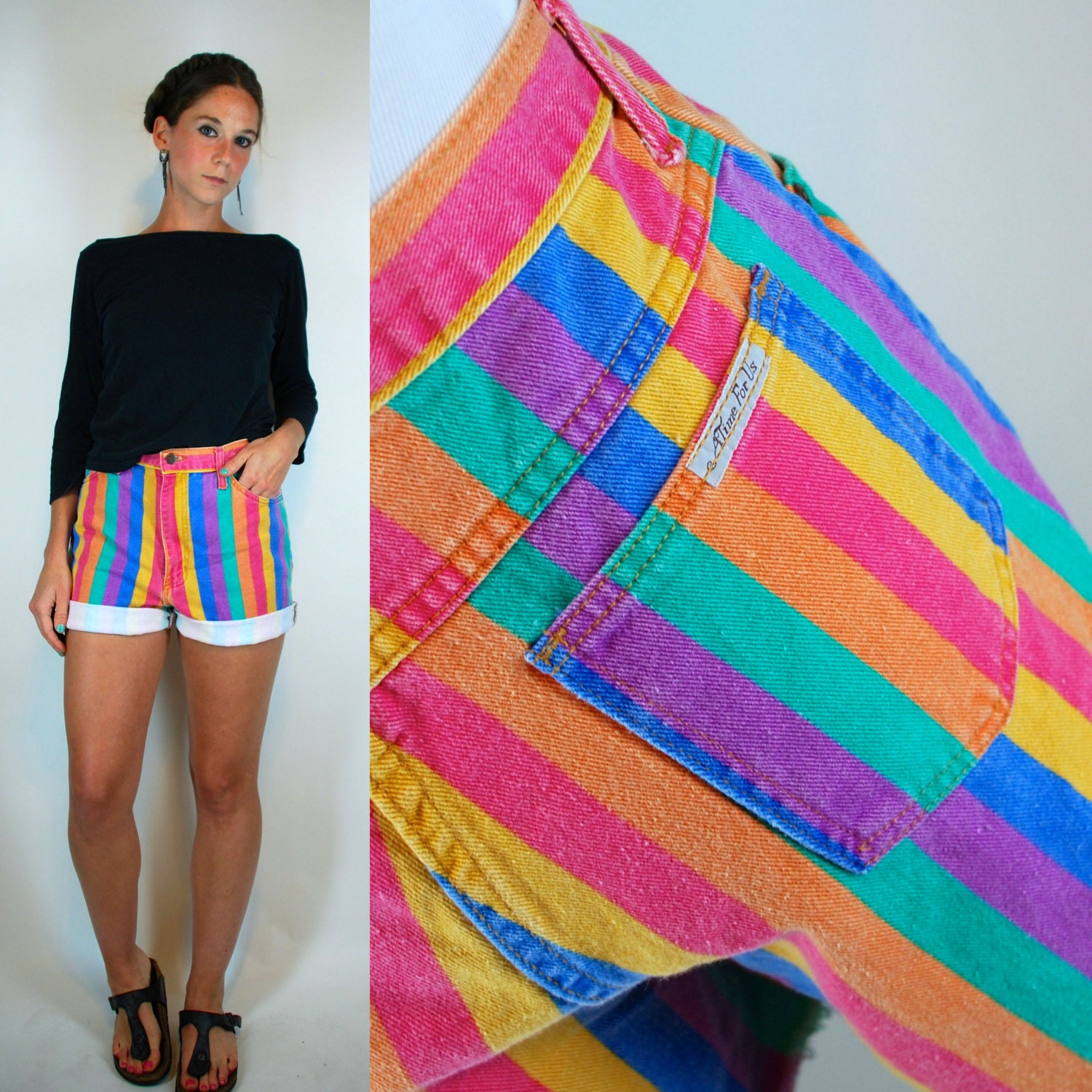 You searched for: rainbow shorts! Etsy is the home to thousands of handmade, vintage, and one-of-a-kind products and gifts related to your search. No matter what you're looking for or where you are in the world, our global marketplace of sellers can help you find unique and affordable options. Let's get started!