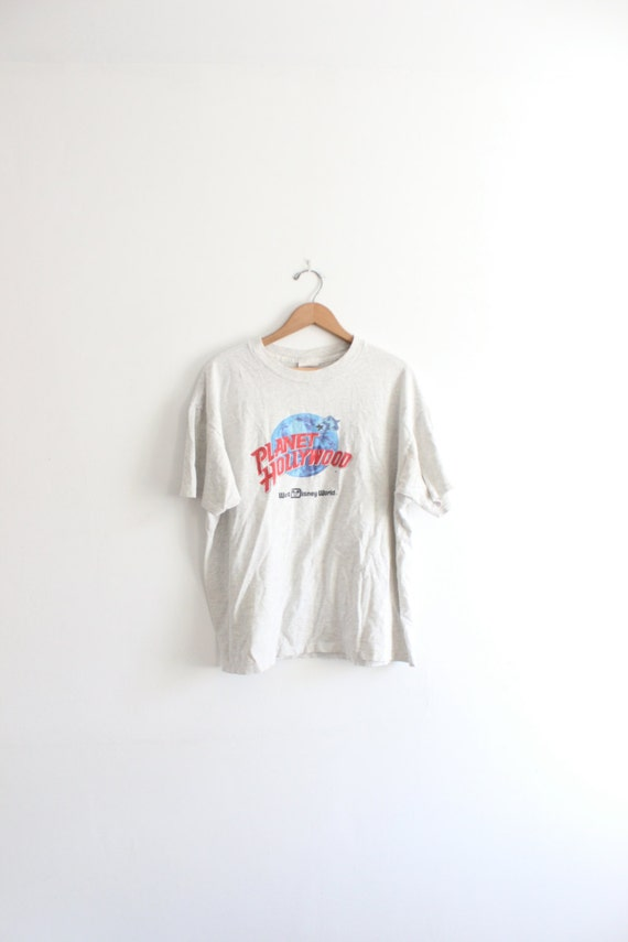 Planet hollywood 90s t shirt for Planet hollywood t shirt