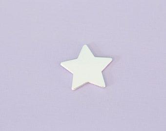 "25% off! Large 1"" Star - Aluminum Stamping Blanks - Metal Stamping Blanks - 14g - #24"