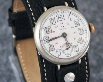 Omega Trench Watch (1913-1914)