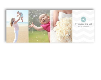 Photography Marketing Facebook Timeline Cover Template - GRIGIO - 1278