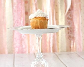Cupcake Cake Holder Noritake China Vintage Pedestal Stand Dessert Buffet Fruit Baby Bridal Shower Jewelry Candle Holder Wedding Decor Poetry