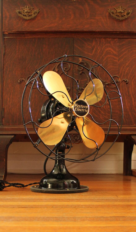 1920s Western Electric Fan Antique Electric Fan Vintage
