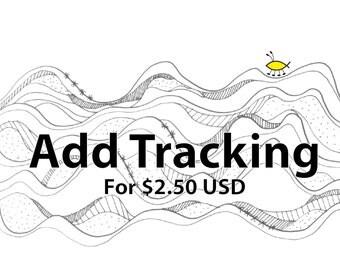 Additional Tracking Number - Registered postal upgrade - For international destinations