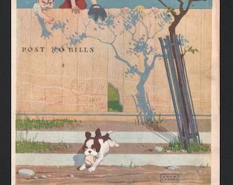 Vintage Magazine Cover, Life , September 28, 1916  (637)
