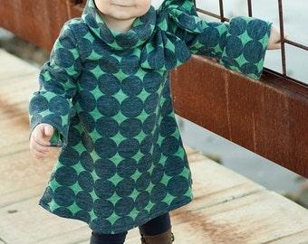 Custom Girls Dress, Elke Dress, Tween Dress, Boutique Dress, Fall/Winter Dress, Christmas Dress, Available Size 6yr-10yr
