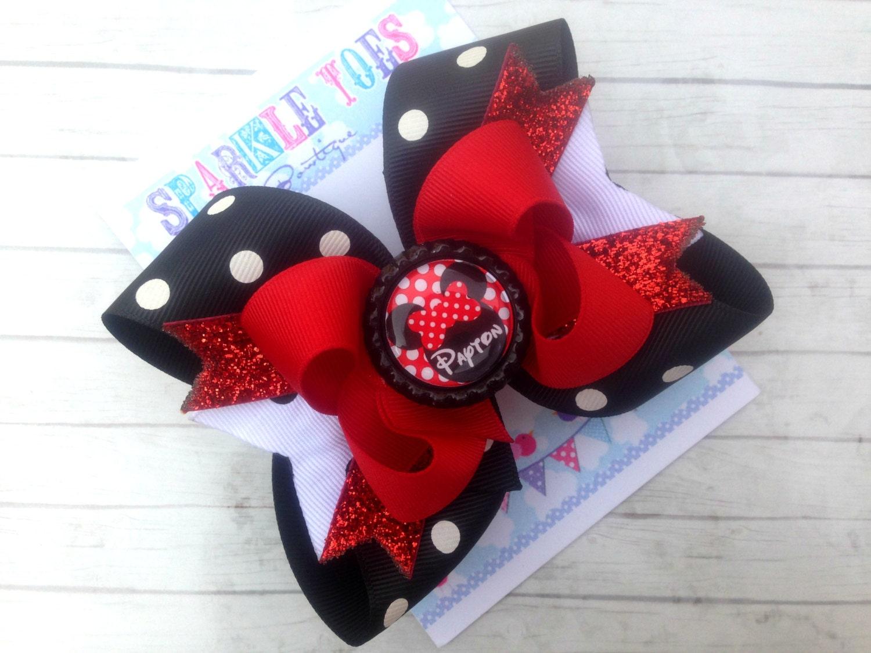 Minnie mouse personalized bow princess minnie minnie mouse - Princesse minnie ...