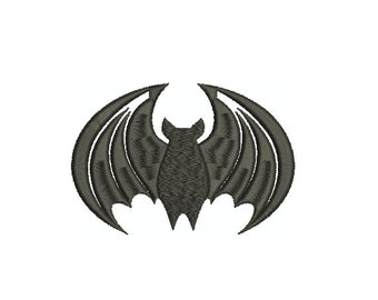 Machine Embroidery Design Instant Download - Bat 1