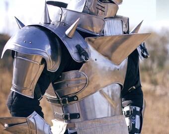 Alphonse Elric: Full Metal Alchemist in full steel armor, FREE SHIPPING