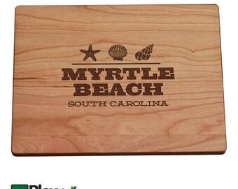 Personalized Beach Town Board, Beach Home, Wedding Gift, Bamboo,Custom Cutting Board, Wedding Gifts, Destination Wedding