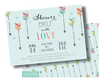 Baby Shower Invitation {Shower with Love}
