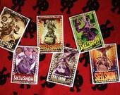 Nudie Monsters greetings cards - A5 pack of 6 + envelopes