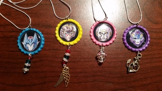 The Fembot Necklaces