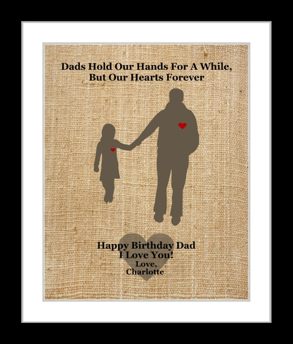 Gifts For Dad Daddy From Daughter Custom By Printsinspired
