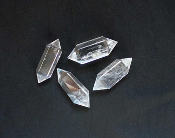 Polished Natural Quartz Crystal Double Terminated Point  - B98