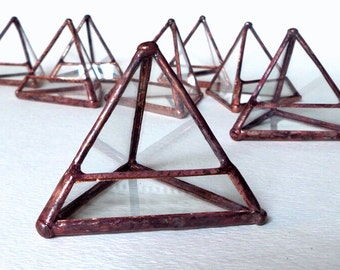 Stained Glass Mini Pyramid