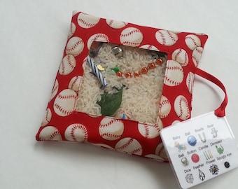 I Spy Bag - Red Baseballs