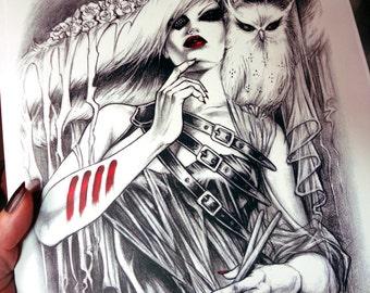 Original Nik Guerra new BOOK / Signed / COCO' nell'ARTE nel respiro / sketched edition / comic book by Grifo Editore 2014 /
