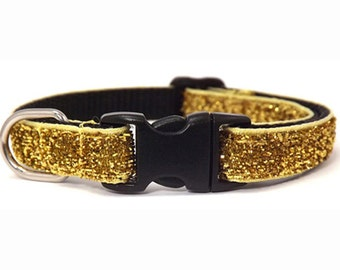 The Superstar - Gold | Cat Collar with Bell