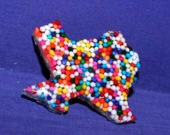 Sprinkle Texas Necklace - Sprinkle Jewelry - Rainbow Sprinkle