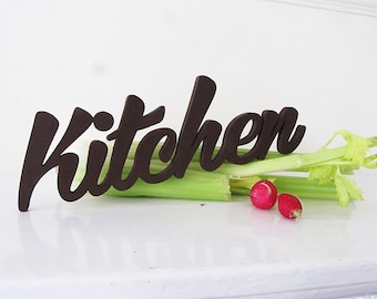 Kitchen Decor, Door Sign,  Newcomers Gift, Kitchen decor, Cafe, Restarant, Handmade Wood Sign, Party Decor, Christmas gift