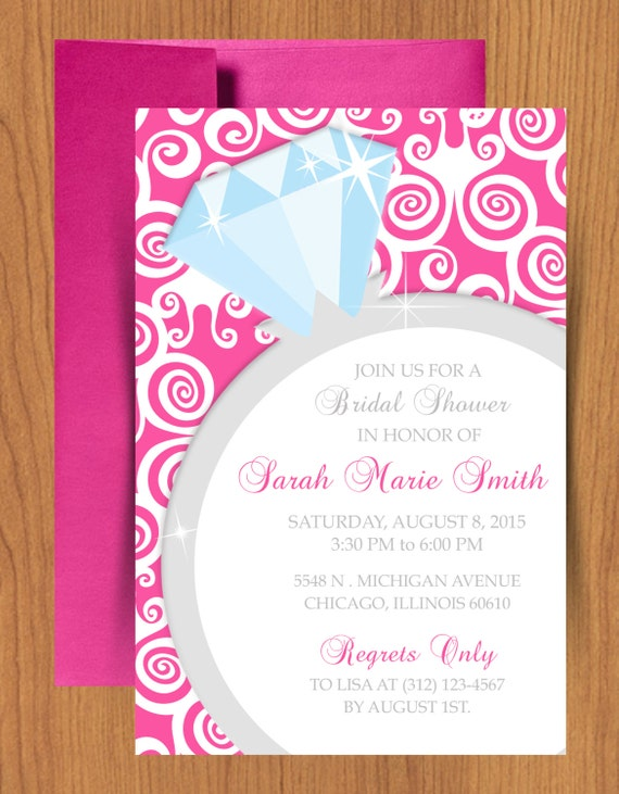 Bridal Shower Invitation Templates For Word – Free Bridal Shower Invitation Templates for Word