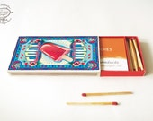 Printable DIY Matchbox Business Card or Cigarette Case: COOL   Papercraft Instant download pdf template A4   Under 5dollar Christmas Gift