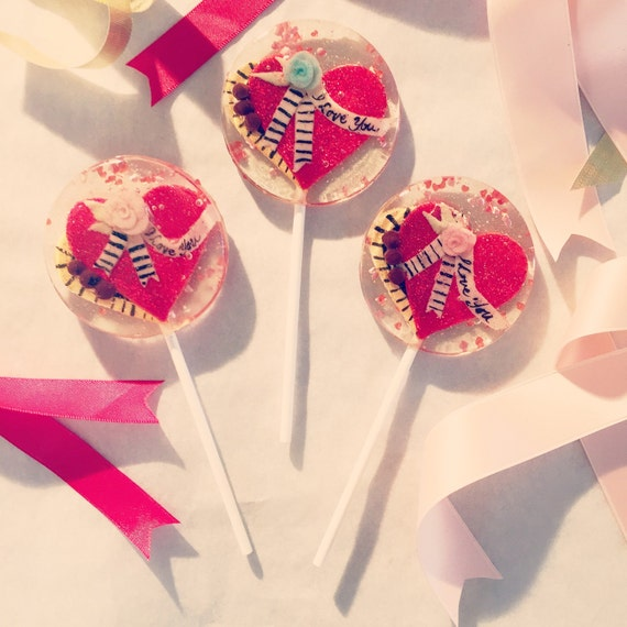 how to make lollipops with pictures inside