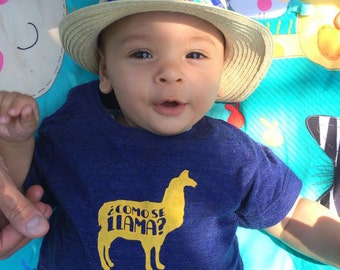 Como Se Llama T-shirt for kids. Funny and cool kids Tshirt.